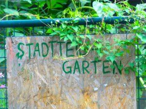 das Tor zum Garten - hier gehts rein