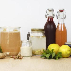 Da braut sich was zusammen – fermentierte Getränke